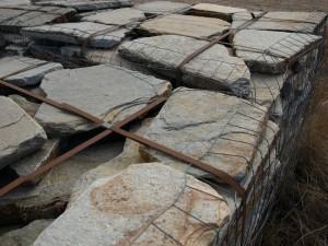 2 Inch Tumbled Step Stone Yukon Gold